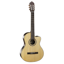 Фото Cort AC160CF NAT класcическая гитара с электроникой Fishman