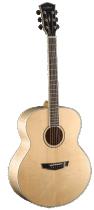 Фото Parkwood PW-340FM NS акустическая гитара с чехлом